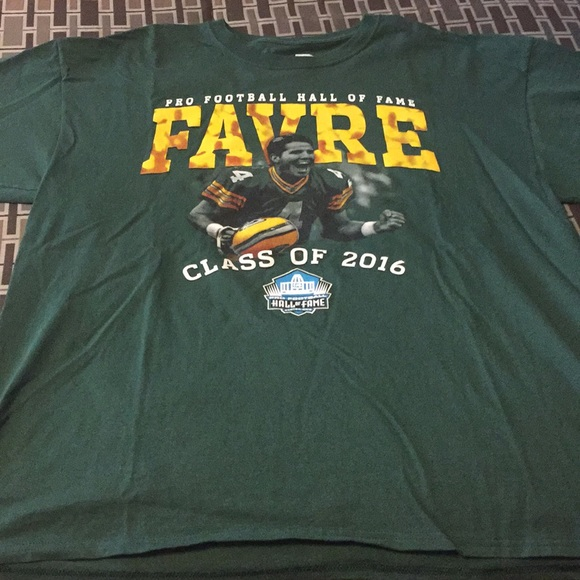 huge selection of 3b0a1 048ff Brett Favre Green Bay Packers NFL Hall of Fame